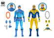 dc icons blue beetle booster gold action figure 2 pack