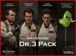 Ghostbusters Dr. 3 Pack