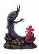 mondo batman red rain statue-a