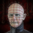 hollywood collectibles hellraiser pinhead lifesize bust-e