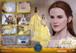hot toys beauty and the beast belle -4