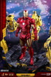 hot toys iron man with suit up gantry