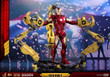 hot toys iron man mark iv diecast sixth scale figure suit up gantry 003