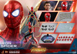 hot toys iron spider one sixth scale figure