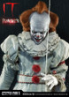 prime 1 studio it pennywise 1/2 scale statue