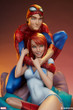 sideshow collectibles spider-man mary jane maquette