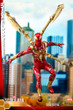 hot toys iron spider armor sixth scale figure