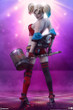 sideshow collectibles harley quinn hell on wheels premium format figure