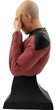 sdcc 2020 icon heroes star trek tng picard facepalm bust