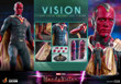hot toys vision sixth scale figure wandavision