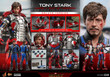 hot toys tony stark mark v suit up version deluxe sixth scale figure