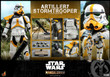 hot toys artillery stormtrooper sixth scale figure