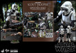 hot toys scout trooper and speeder bike one sixth scale figure