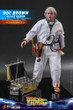hot toys back to the future doc brown deluxe version one sixth scale figure