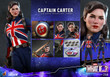 hot toys captain carter one sixth scale figure