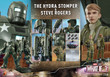hot toys steve rogers and hyrda stomper one sixth scale figure