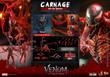 hot toys carnage deluxe one sixth scale figure