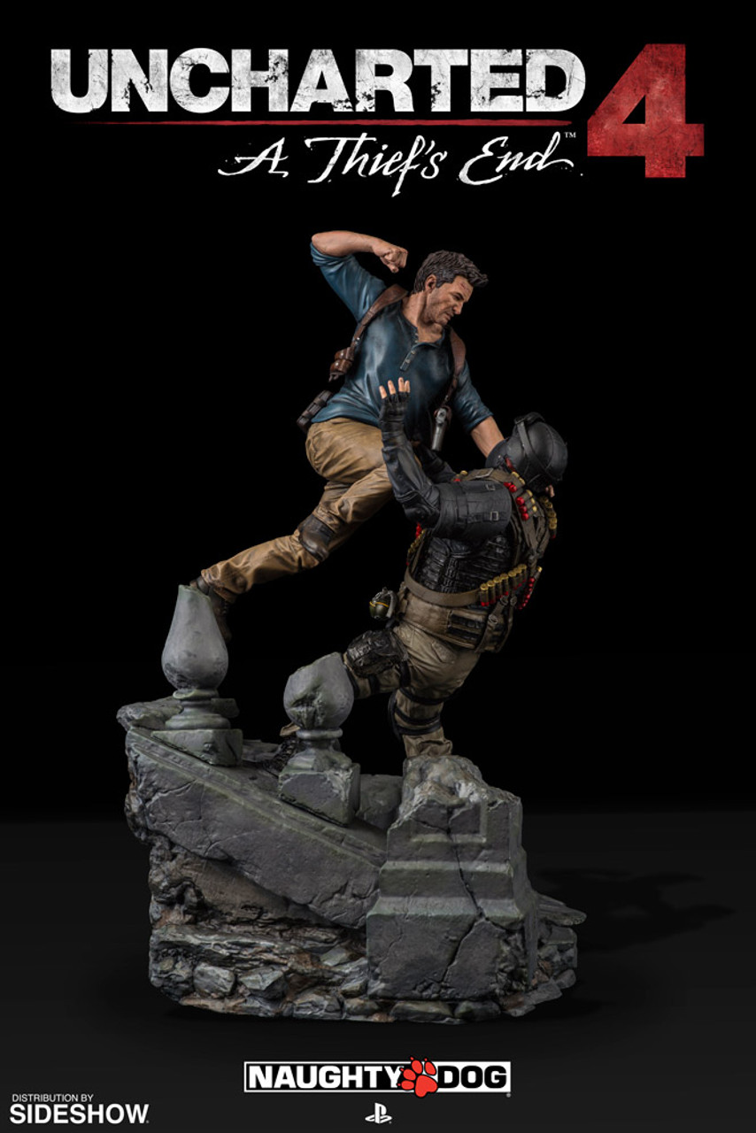 Sony Interactive Uncharted 4 A Thief S End Nathan Drake Statue