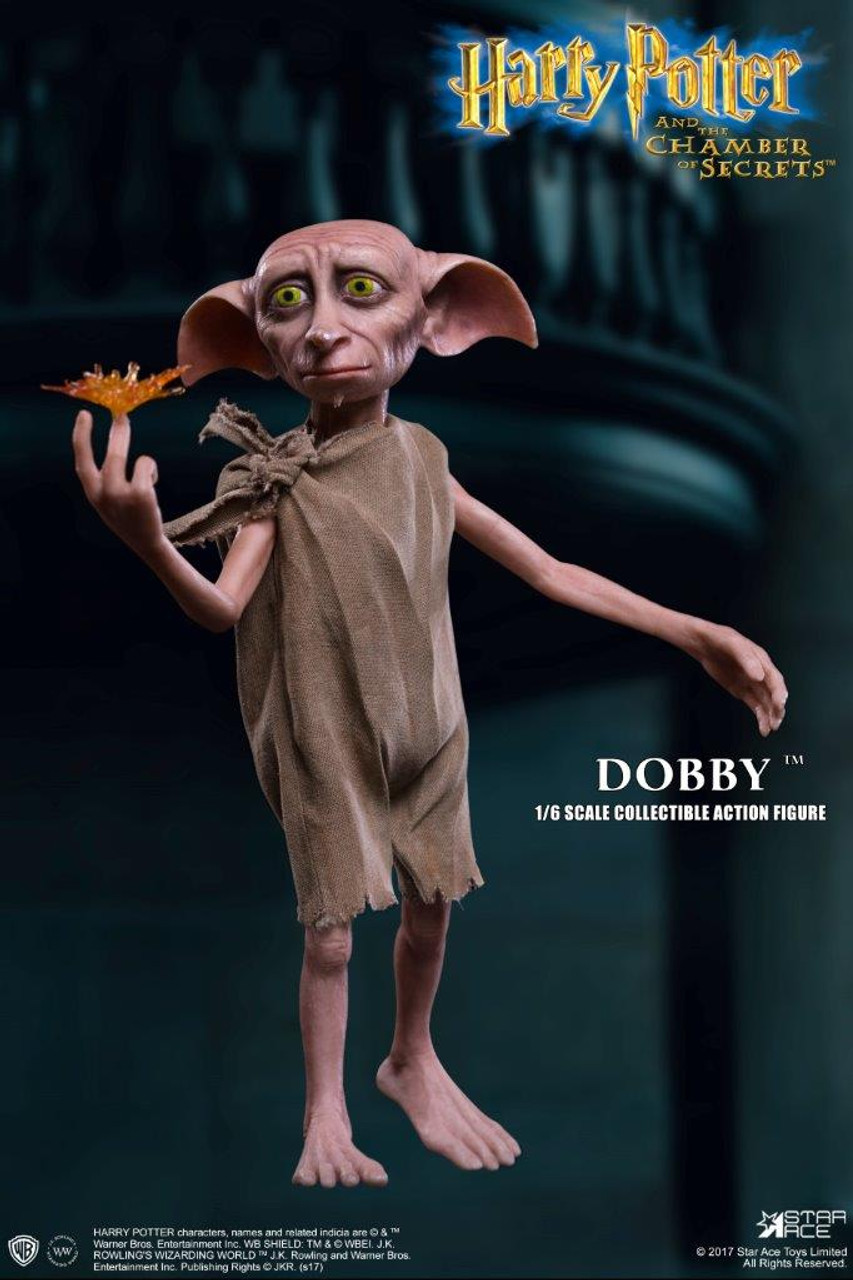 star ace harry potter and the chamber of secrets dobby the house elf 1 6 scale figure alter ego comics harry potter and the chamber of secrets dobby the house elf