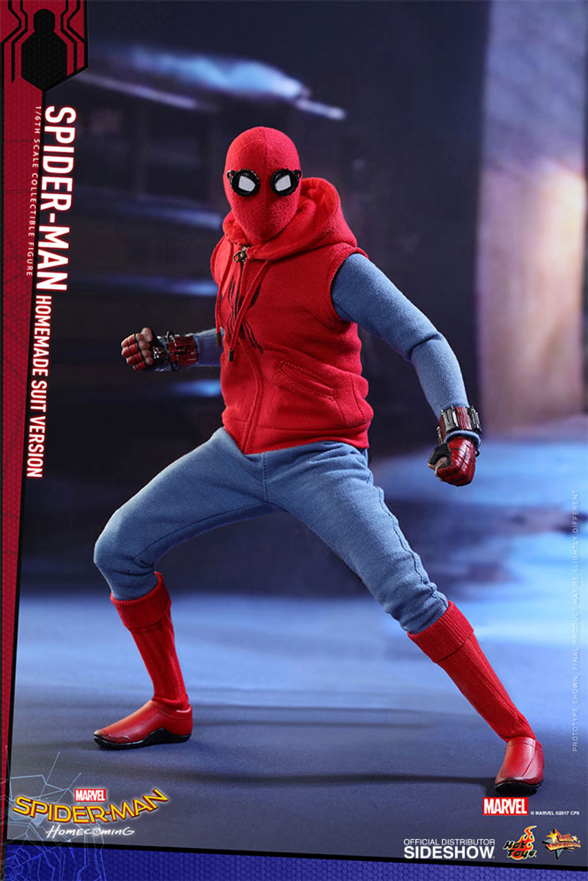 Spider,Man (Homemade Suit Version) 1/6 Scale Figure