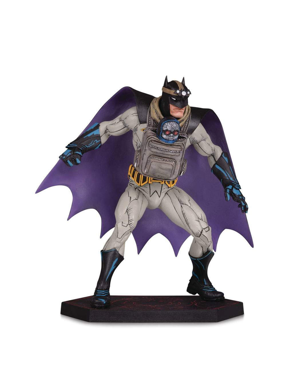 Metal ~ BATMAN THE DROWNED STATUE ~ DC Collectibles DCD Dark Nights