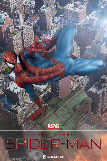 sideshow collectibles amazing spider-man premium format figure