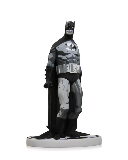 batman black white statue mignola