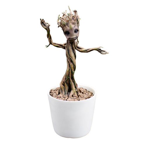 Factory Entertainment Dancing Groot Motion Statue