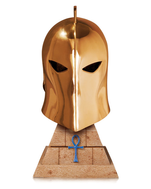 DC Collectibles Dr. Fate Helmet Replica (24K Gold Plated Edition)