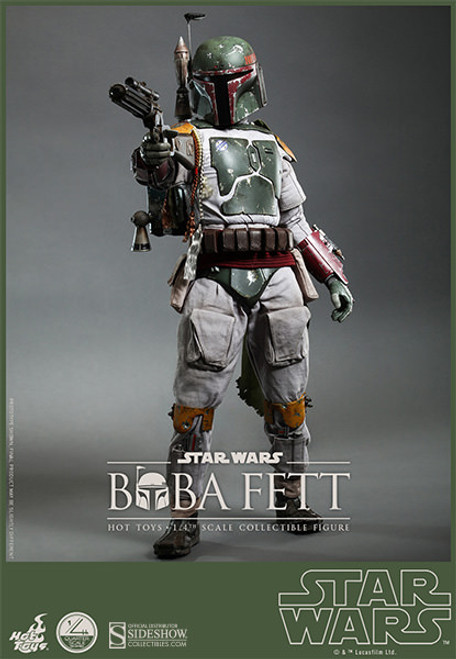 hot toys quarter scale boba fett