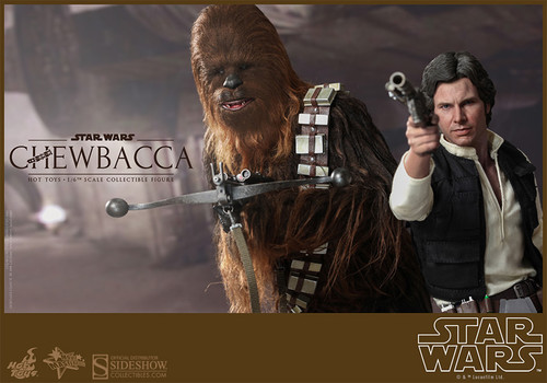 hot toys han solo chewbacca