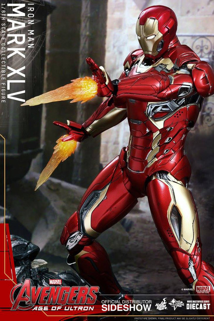 hot toys iron man mark xlv die cast figure