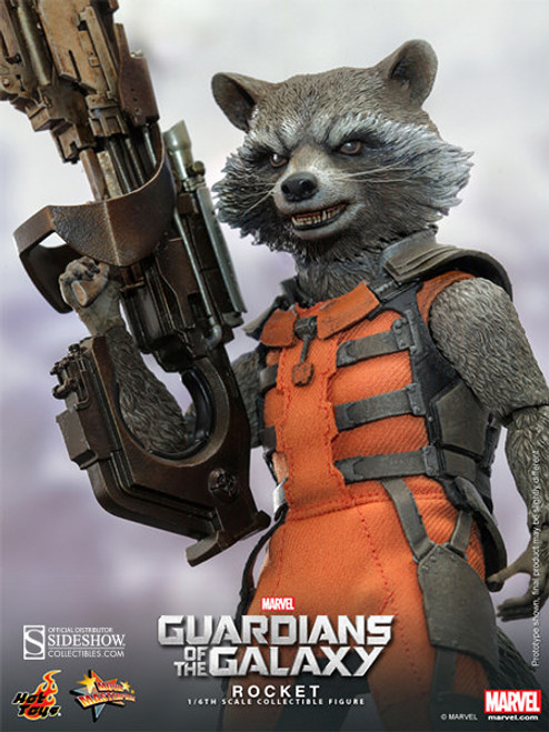 hot toys rocket raccoon