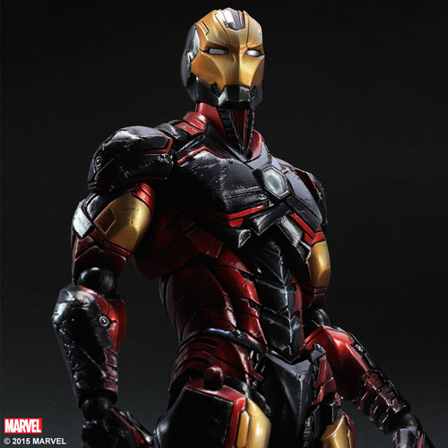 play arts iron man