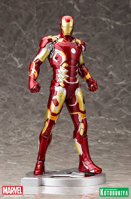 iron man mark 43 statue