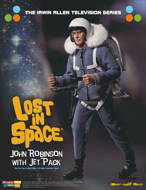 john robinson sixth scale figure