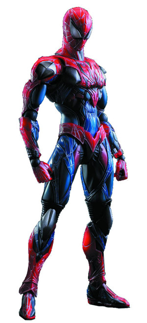 play arts kai spider-man