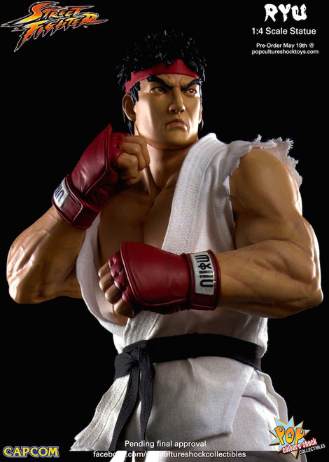 Street Fighter Ryu 1/4 Scale Statue