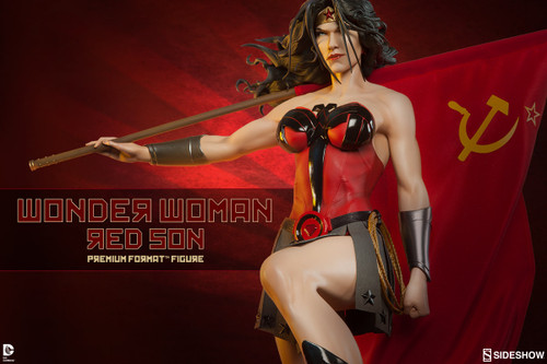 wonder woman red son premium format figure
