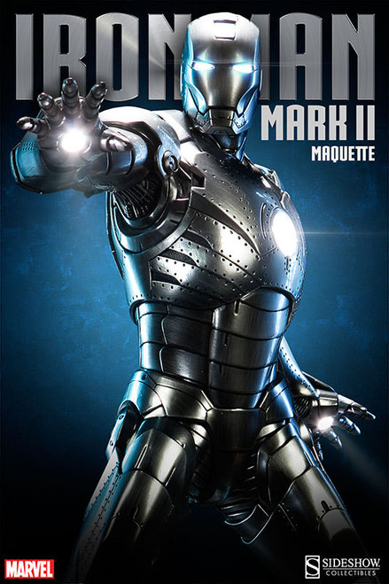 Iron Man Mark II 1/4 Scale Maquette