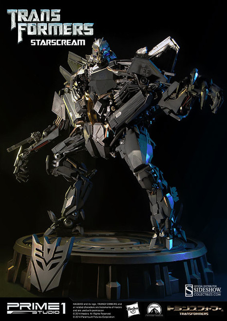Transformers Starscream Statue