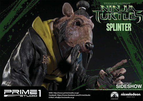Teenage Mutant Ninja Turtles Splinter Statue