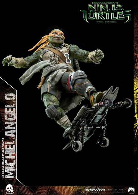 Threezero TMNT Michaelangelo 1/6 Scale Figure