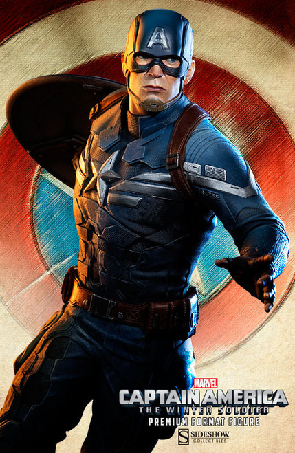 captain america winter soldier premium format figure