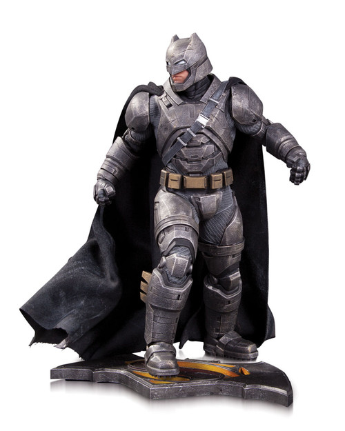 dawn of justice armored batman statue