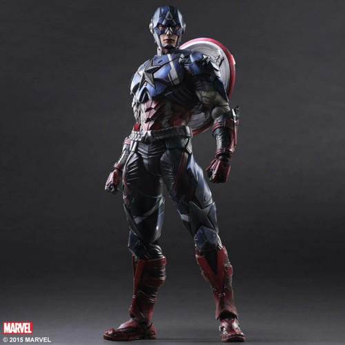 play arts captain america