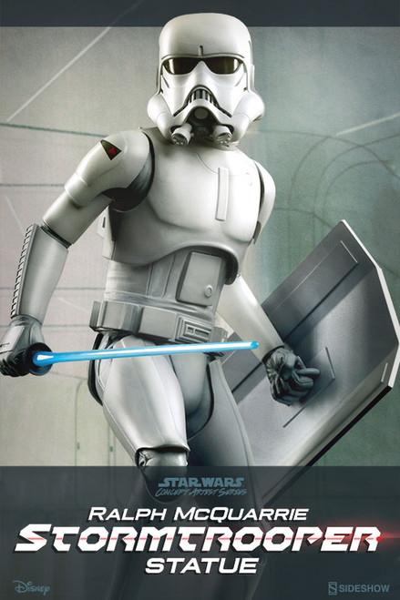 sideshow collectibles ralph mcquarrie stormtrooper statue