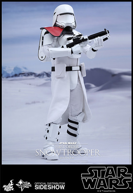 hot toys first order snowtrooper officer