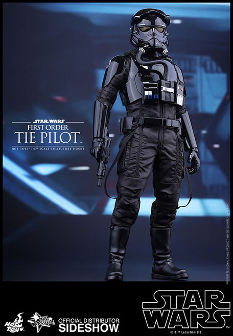 hot toys first order tie pilot