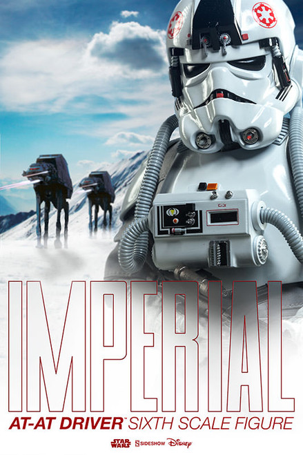 sideshow collectibles imperial at at drive sixth scale figure